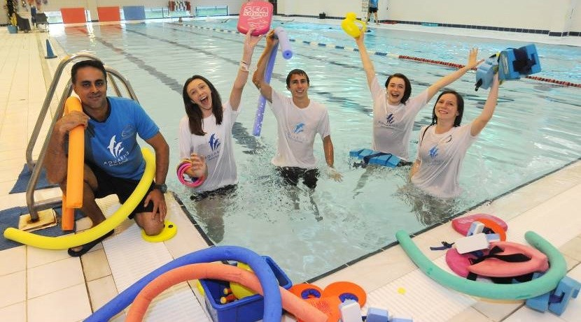 Swim Helpers Academy makes a splash in Coventry