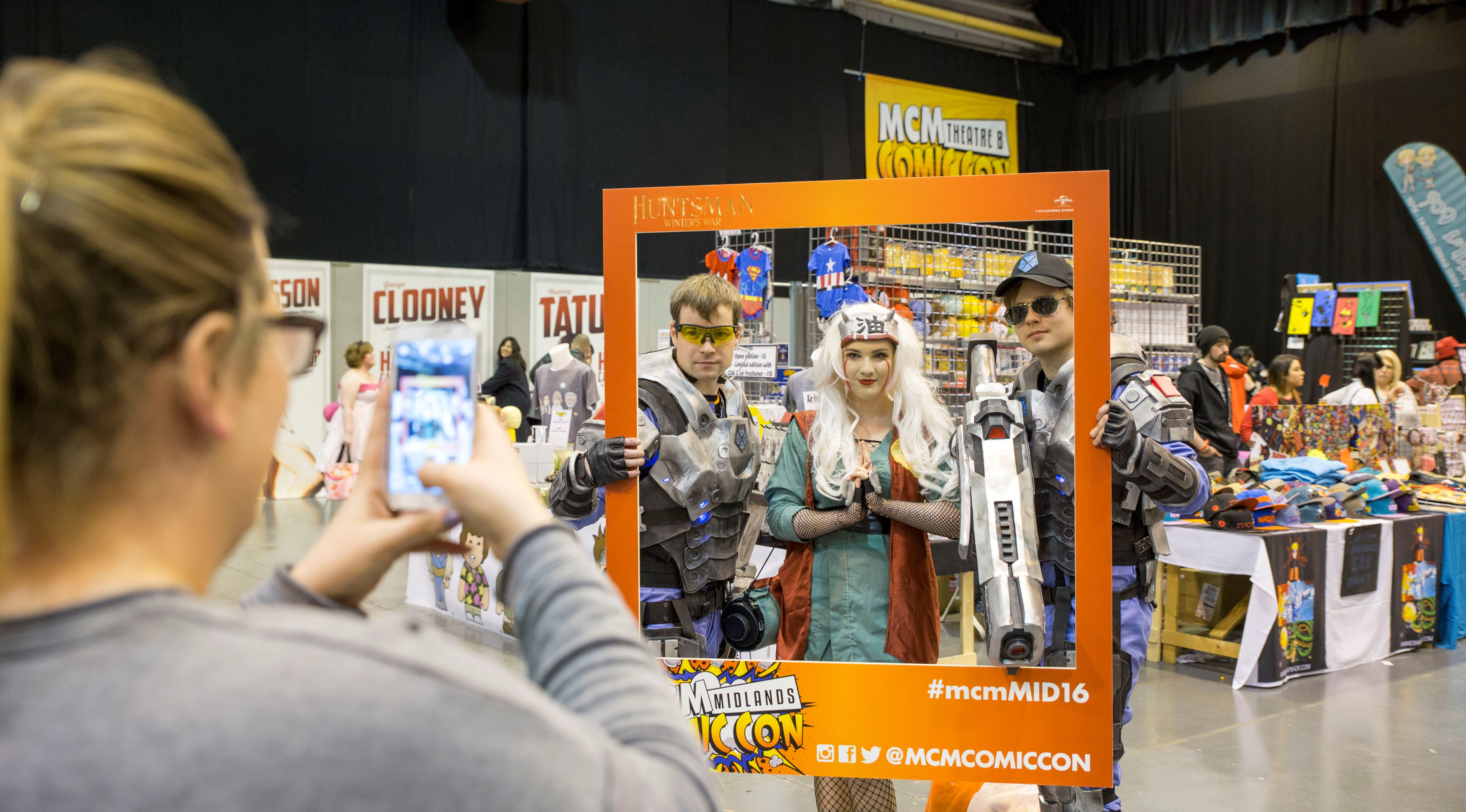 Tickets to MCM Comic Con Midlands