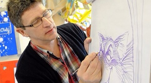 Art Workshop with Steve Smallman