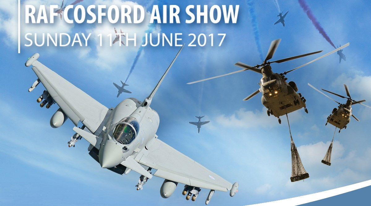 Tickets to RAF Cosford Air Show