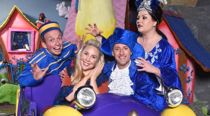 Cadbury World reopens with panto family fun