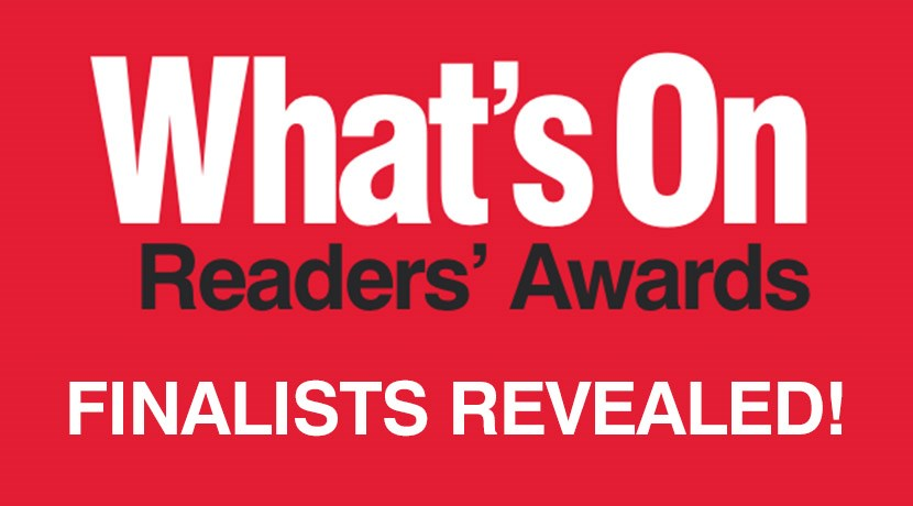 What's On Readers' Awards Finalists announced