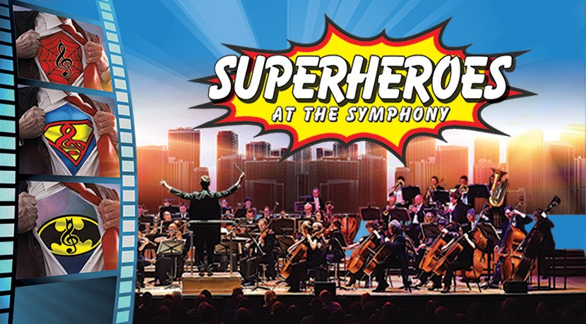 Tickets to Superheroes at the Symphony