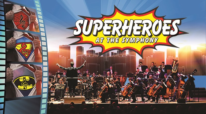 Superheroes at The Symphony