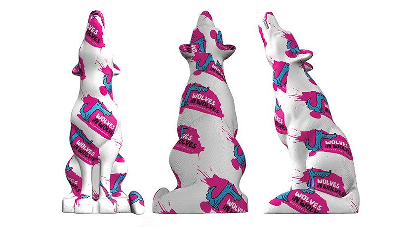 Public art event Wolves in Wolves to arrive in the city this Summer