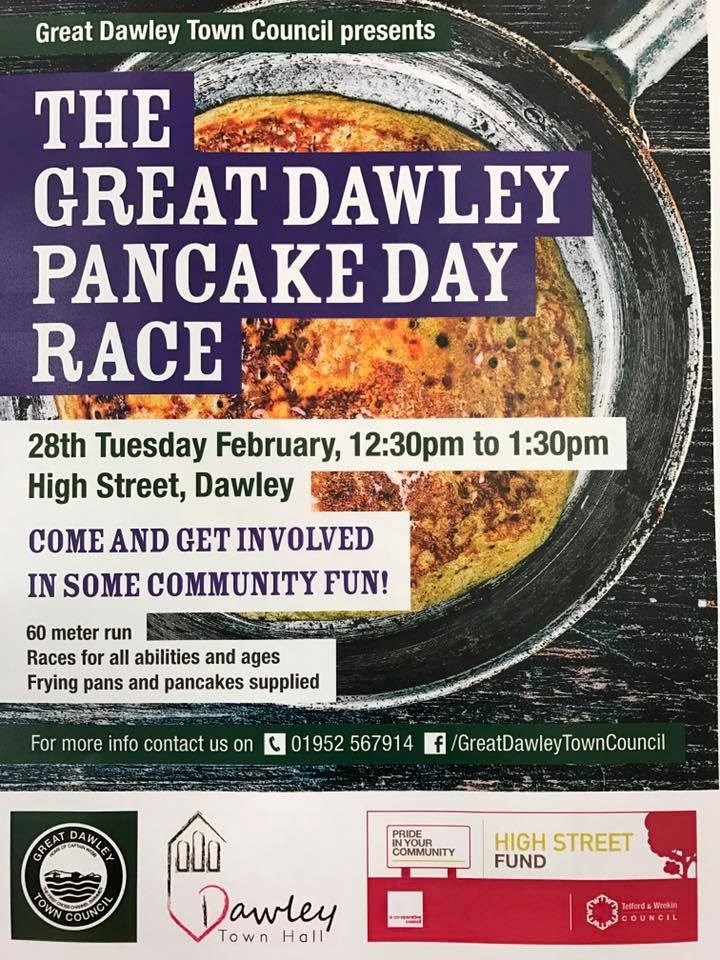 The Great Dawley Pancake Day Race
