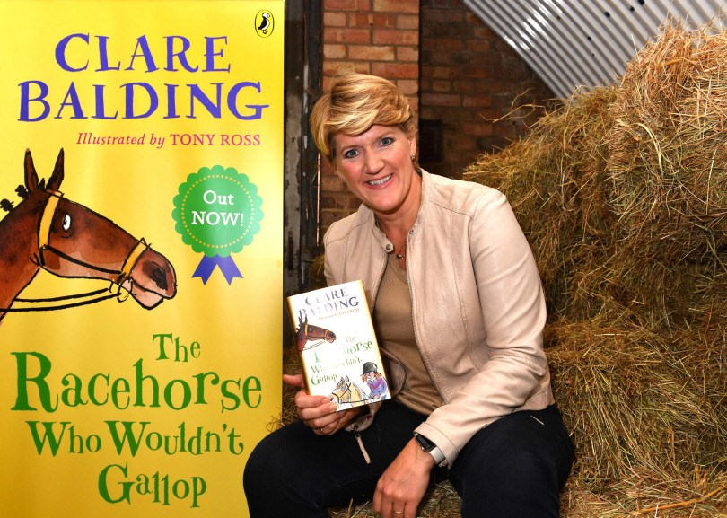 Clare Balding set to get Bookfest off to a Gallop!