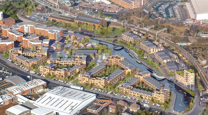 City centre Canalside living vision revealed