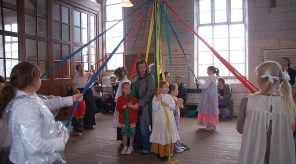 May Day at the Museum