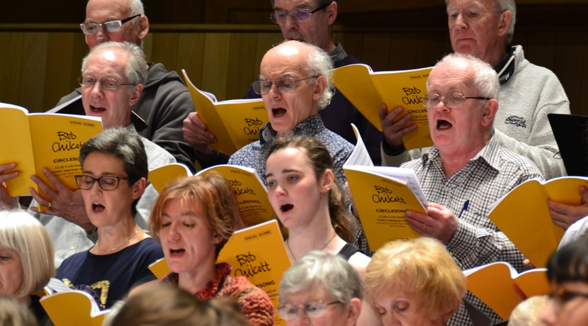 Open rehearsal with Birmingham Festival Choral Society