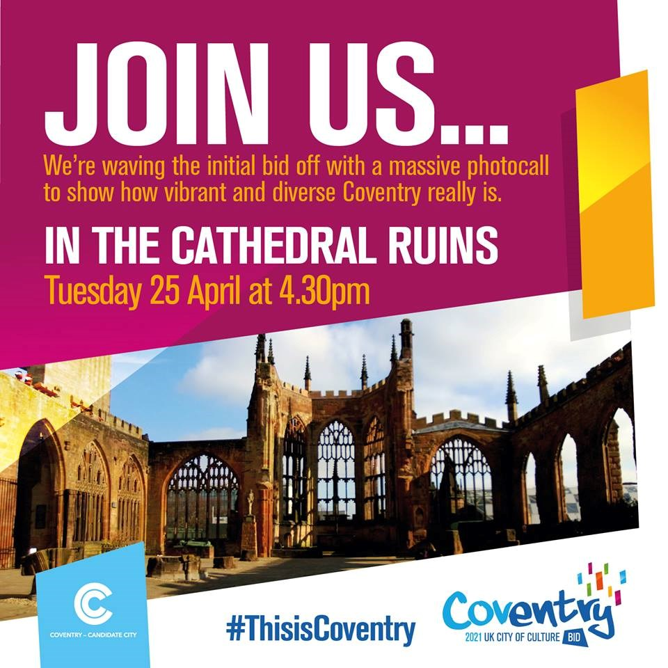 Be part of the picture for Coventry's City of Culture Bid