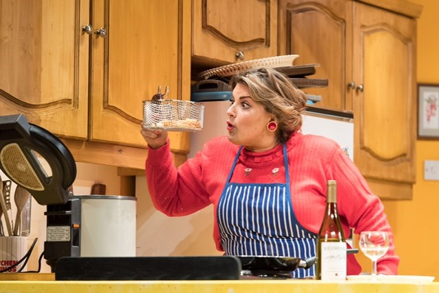 Jodie Prenger stars in Shirley Valentine at the Belgrade Theatre