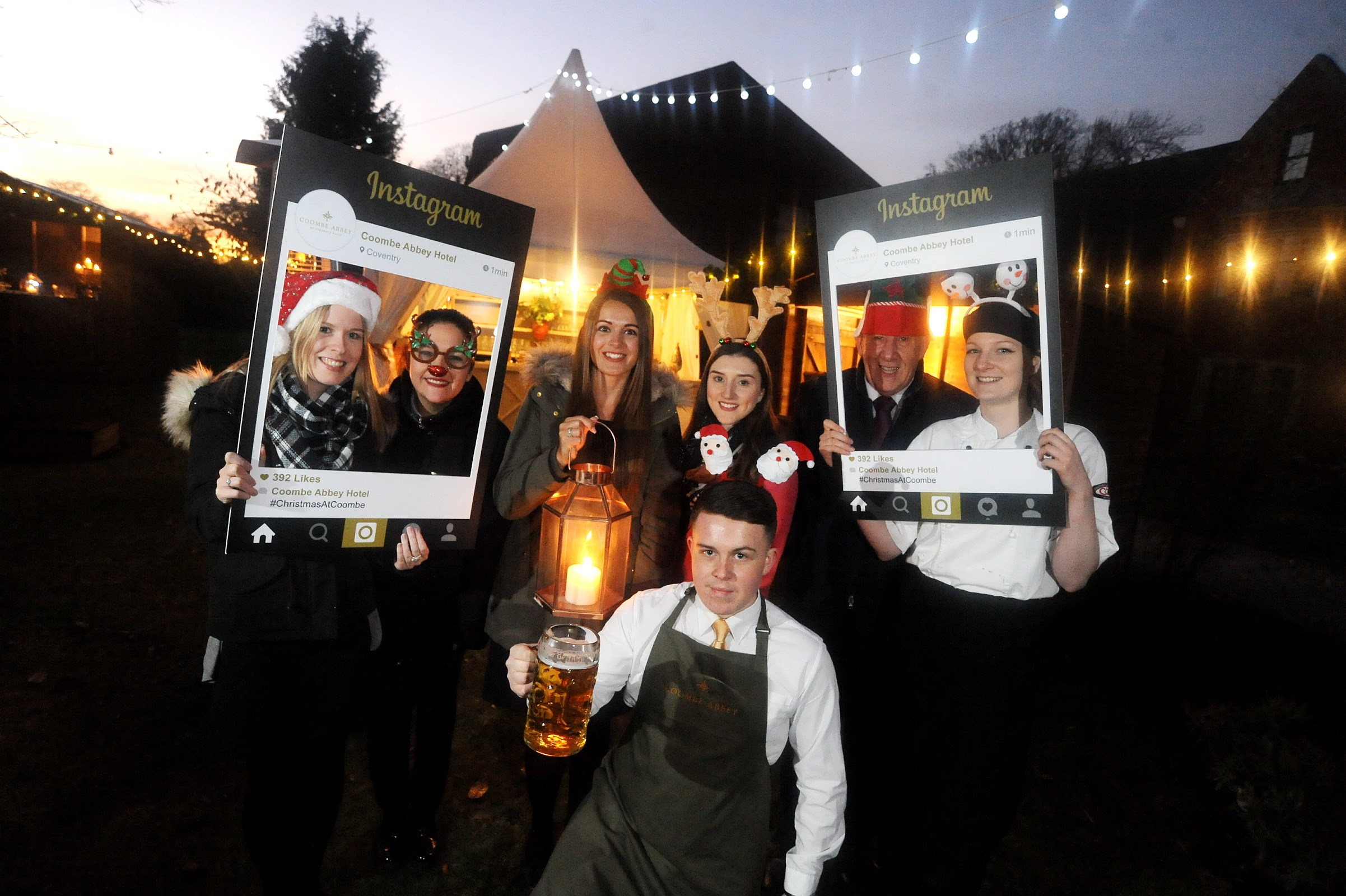 Get Christmas wrapped up early at Coombe Abbey