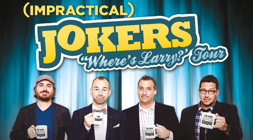 Impractical Jokers return with The Where's Larry tour