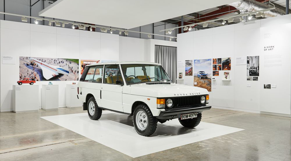 Range Rover celebrated in Brum