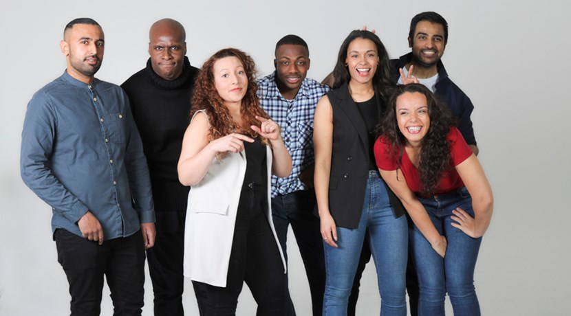The UK's first diverse improv theatre company return to the stage