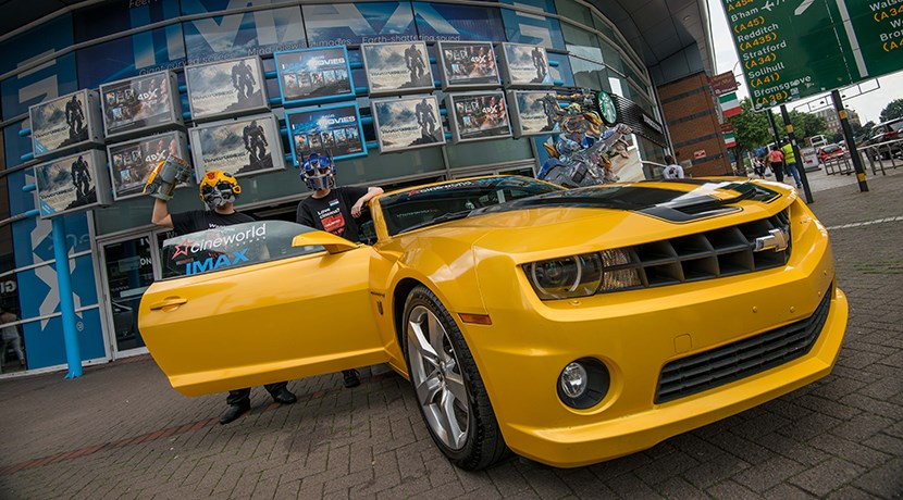 Bumblebee tours to celebrate arrival of Transformers
