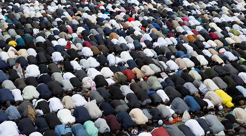 Record 106,000 Muslims attend Eid celebration