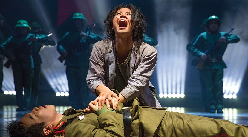 Associate Director discusses Miss Saigon