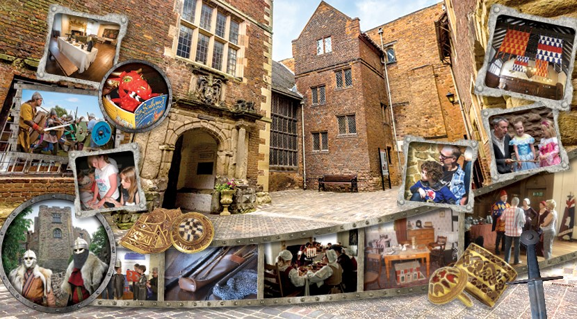 Summer holiday events at Tamworth Castle
