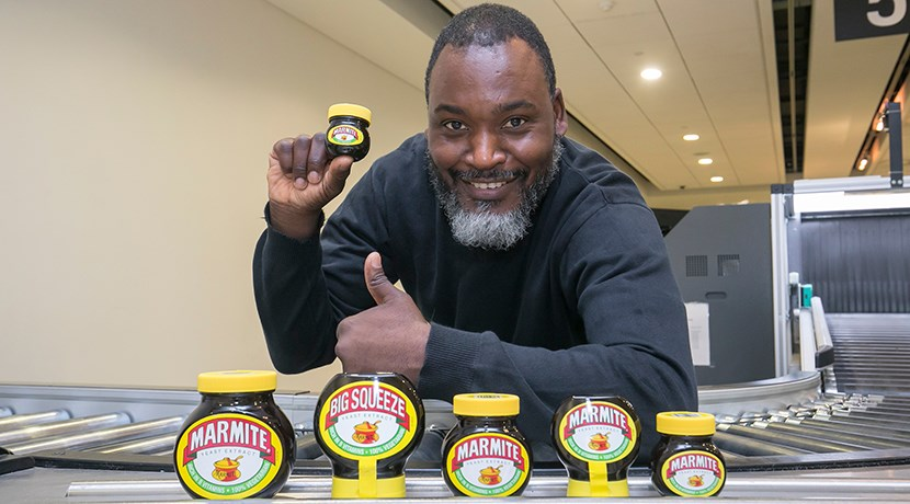 Marmite unveiled as most seized item at airport