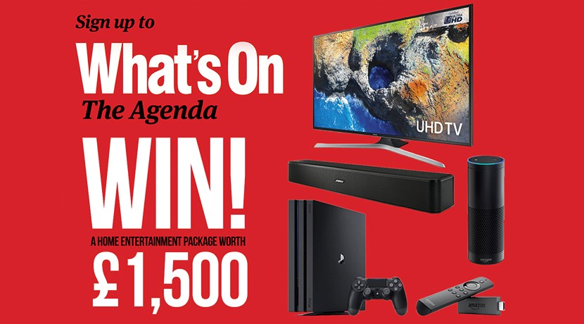 Win a home entertainment package worth £1,500