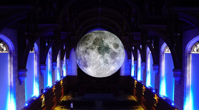 Exhibition Stand Builders Coventry : Spectacular lunar installation comes to coventry