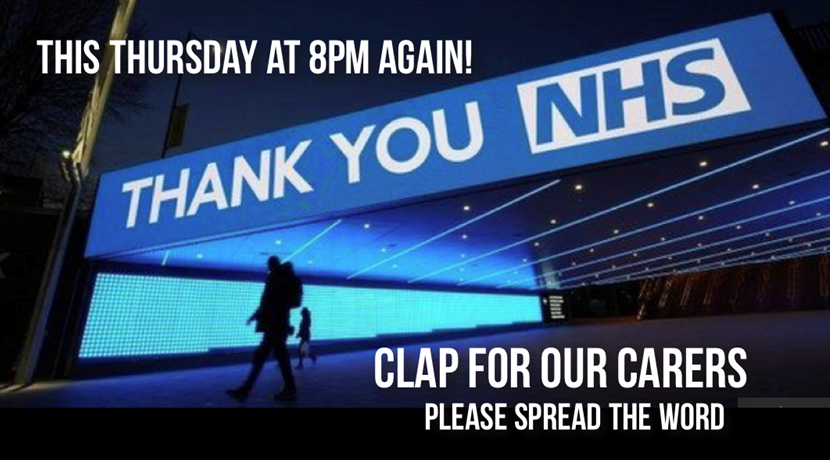 Clap For Our Carers: The UK's NHS appreciation initiative