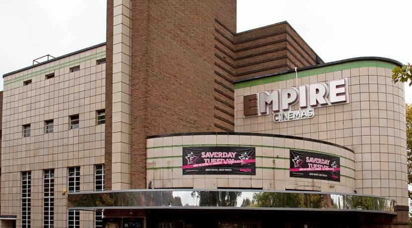 Empire Cinema Sutton Coldfield Car Park