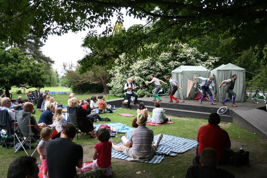 RSC invite schools, colleges and amateur groups to use special open-air performance space